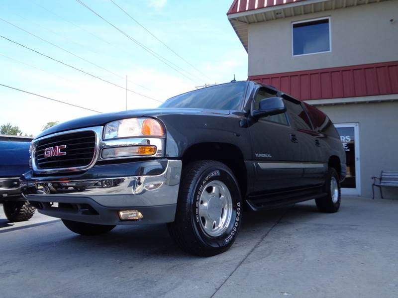 2003 gmc yukon xl 1500 slt 4wd 4dr suv in kernersville nc used cars for sale. Black Bedroom Furniture Sets. Home Design Ideas