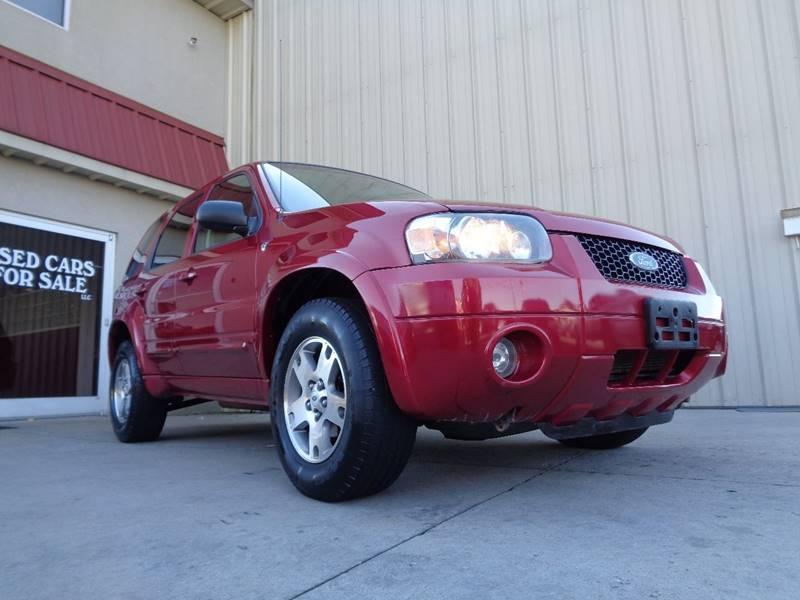 2005 ford escape limited 4dr suv in kernersville nc used cars for sale. Black Bedroom Furniture Sets. Home Design Ideas