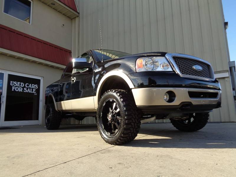2006 ford f 150 lariat 4dr supercrew 4wd styleside 5 5 ft sb in kernersville nc used cars for. Black Bedroom Furniture Sets. Home Design Ideas