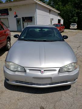 2004 Chevrolet Monte Carlo for sale in Wauregan, CT