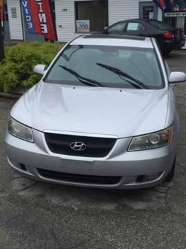 2006 Hyundai Sonata for sale in Wauregan, CT