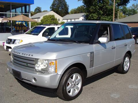 2003 Land Rover Range Rover for sale in Springfield, MA