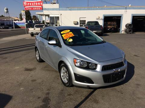 2012 Chevrolet Sonic for sale in Tracy, CA