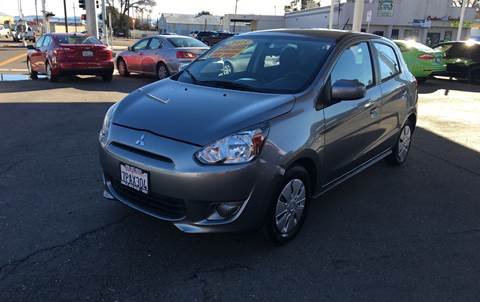 2015 Mitsubishi Mirage for sale in Tracy, CA