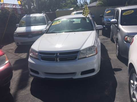 2012 Dodge Avenger for sale at Versalles Auto Sales in Hialeah FL