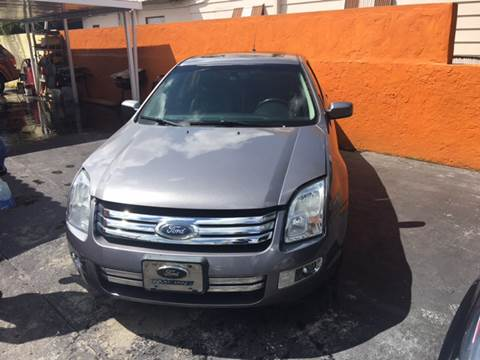 2007 Ford Fusion for sale at Versalles Auto Sales in Hialeah FL