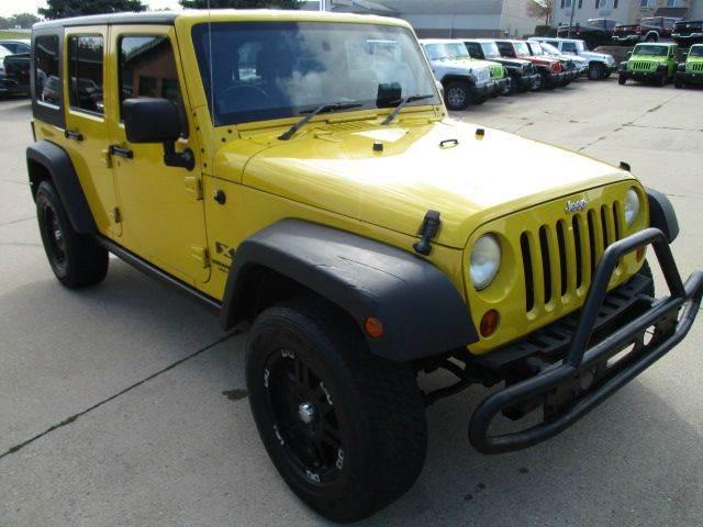 2009 Jeep Wrangler Unlimited 4x4 X RHD 4dr SUV In Galena IL - Postal