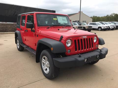 2016 Jeep Wrangler Unlimited for sale in Galena, IL