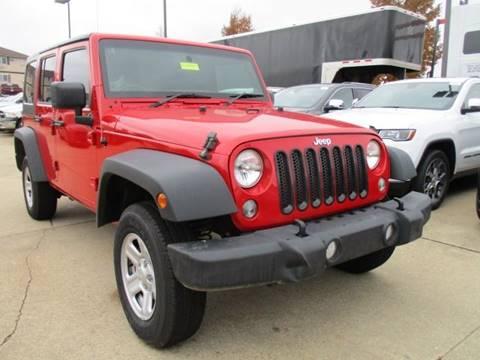 2014 Jeep Wrangler Unlimited for sale in Galena, IL