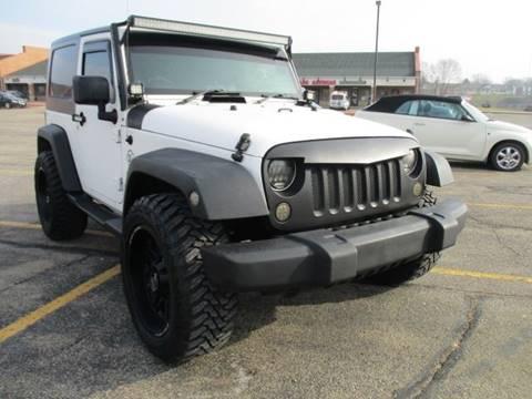 2008 Jeep Wrangler for sale in Galena, IL