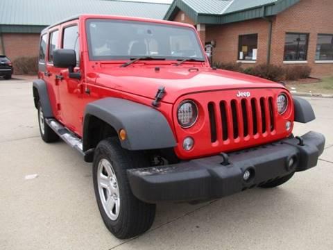 2016 Jeep Wrangler Unlimited for sale in Galena, IL
