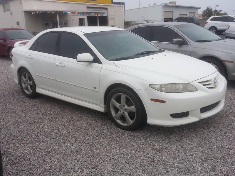mazda 6 2004 white. 2004 mazda mazda6 s 4dr sports sedan 6 white e