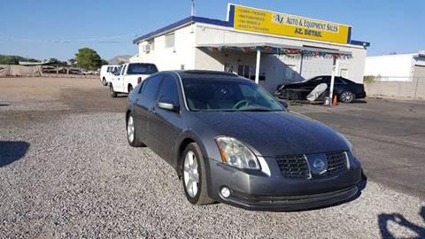 2004 Nissan Maxima for sale at AZ Auto and Equipment Sales in Mesa AZ