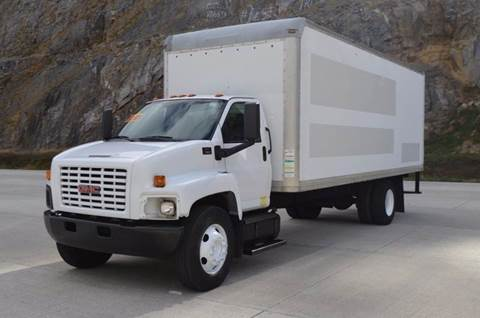 2007 GMC C7500 24ft Box Truck for sale at Mountain Truck Center in Medley WV