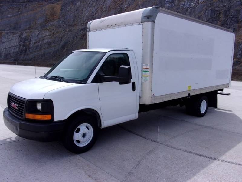 trucks used savana az for in gmc sale box van truck
