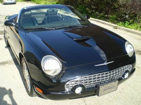 2002 Ford Thunderbird for sale at Great Lakes AutoSports in Villa Park IL