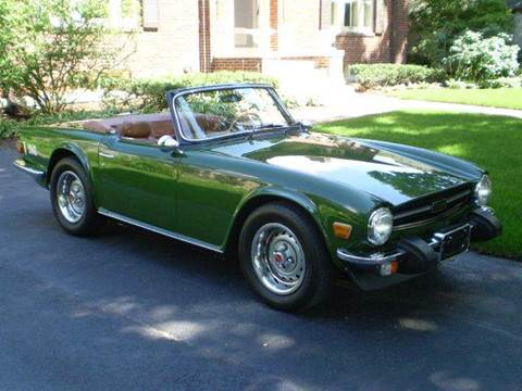 1975 Triumph TR6 for sale at Great Lakes AutoSports - Classics in Westmont IL