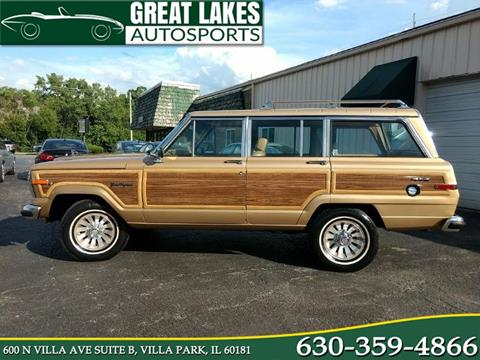 1987 Jeep Grand Wagoneer for sale in Villa Park, IL
