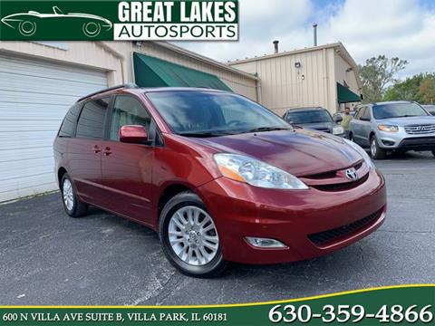 2009 Toyota Sienna XLE for sale at Great Lakes AutoSports in Villa Park IL
