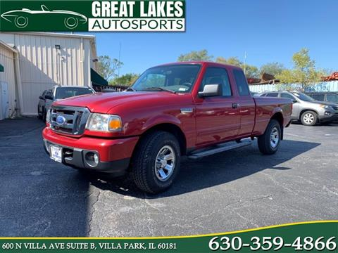 2009 Ford Ranger XLT for sale at Great Lakes AutoSports in Villa Park IL
