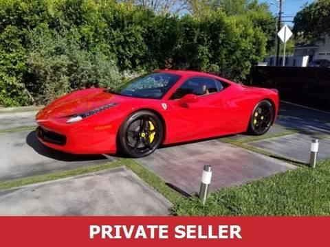 Used Ferrari For Sale >> 2015 Ferrari 458 Italia For Sale In Melbourne Fl