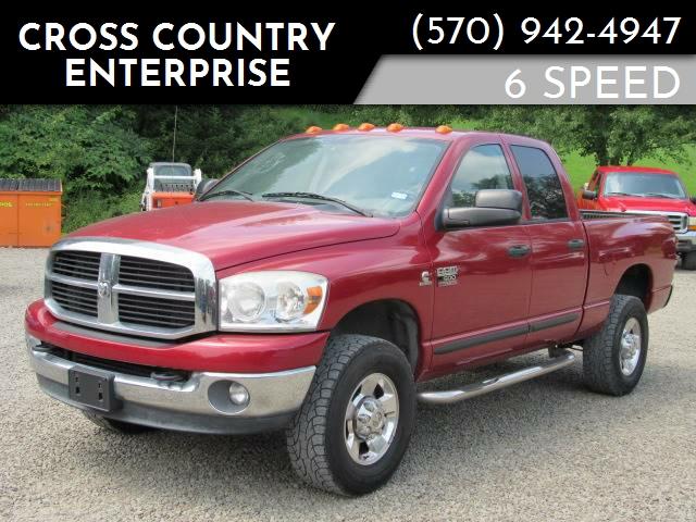 Cross Country 4x4 >> 2007 Dodge Ram Pickup 2500 Slt 4dr Quad Cab 4x4 Sb In Hop