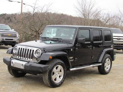 2008 Jeep Wrangler Unlimited for sale in Hop Bottom, PA