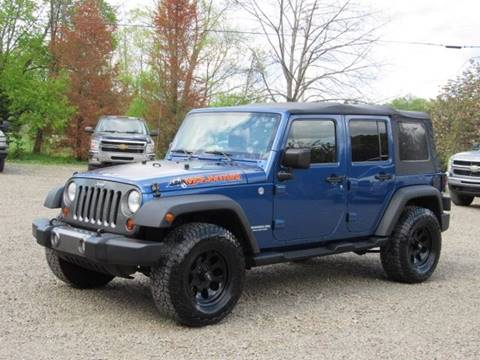 2010 Jeep Wrangler Unlimited for sale in Hop Bottom, PA