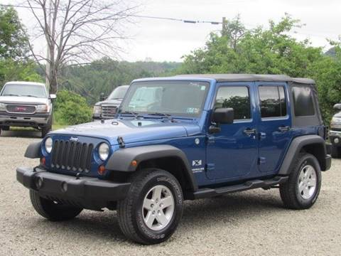 2009 Jeep Wrangler Unlimited for sale in Hop Bottom, PA