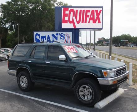 1995 Toyota 4Runner for sale in Leesburg, FL