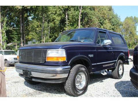 1994 Ford Bronco for sale in High Point, NC