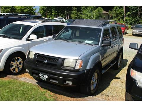 2001 nissan xterra for sale in north carolina. Black Bedroom Furniture Sets. Home Design Ideas