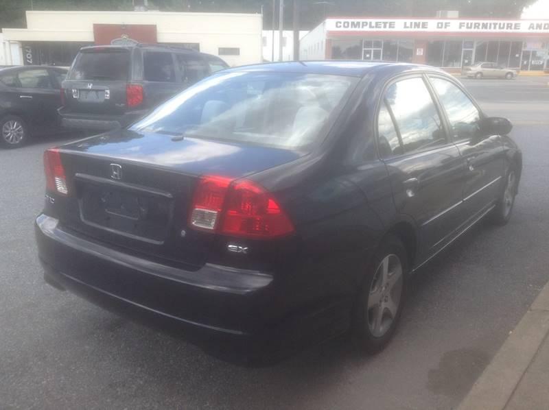 2005 Honda Civic EX 4dr Sedan w/Front Side Airbags - Harrisburg PA