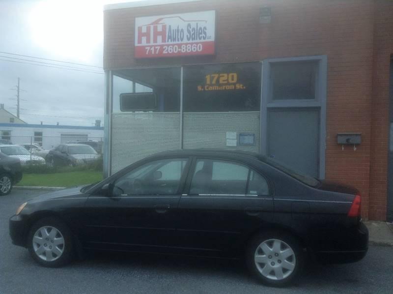 2002 Honda Civic EX 4dr Sedan - Harrisburg PA