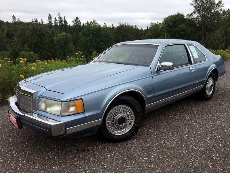 1988 Lincoln Mark VII for sale at STATELINE CHEVROLET BUICK GMC in Iron River MI