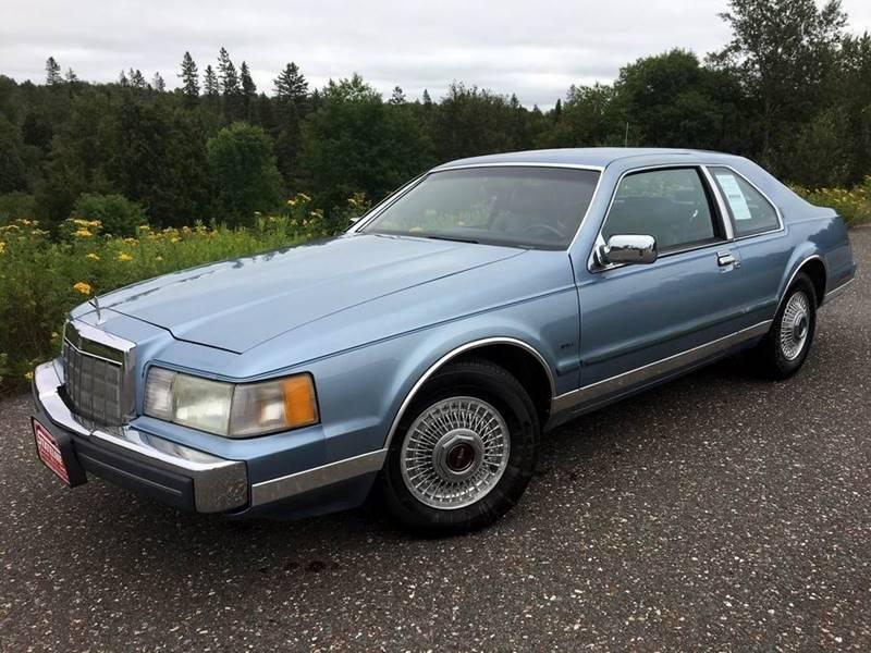 1988 Lincoln Mark Vii Bill Blass 2dr Coupe In Iron River Mi