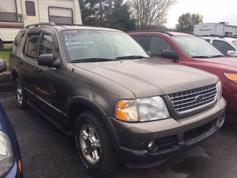 2003 Ford Explorer for sale at BURNWORTH AUTO INC in Windber PA