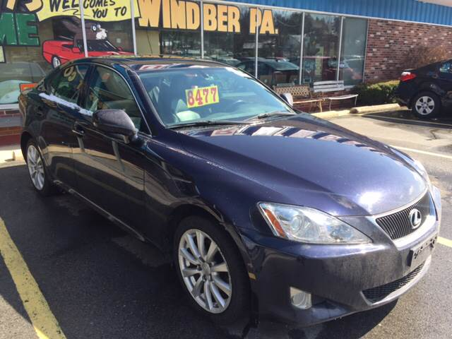 2007 lexus is250 awd specs