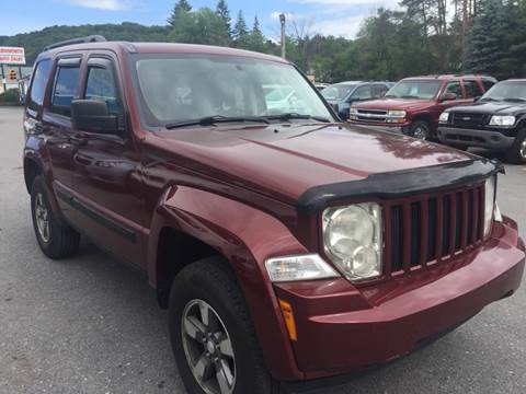 2008 Jeep Liberty for sale at BURNWORTH AUTO INC in Windber PA