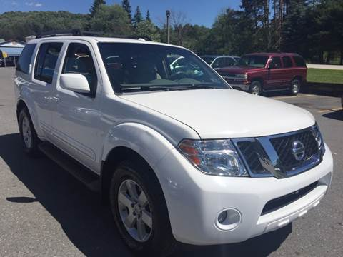 2008 Nissan Pathfinder for sale at BURNWORTH AUTO INC in Windber PA