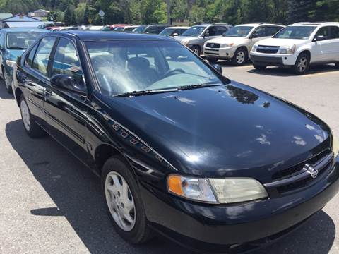 1999 Nissan Altima for sale at BURNWORTH AUTO INC in Windber PA