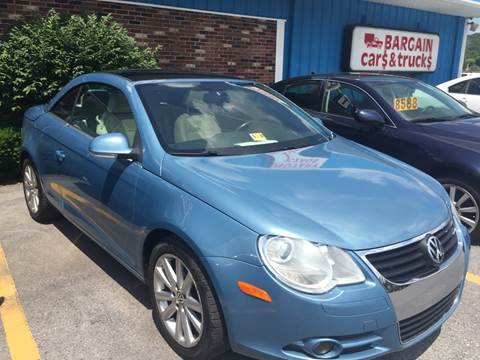 2008 Volkswagen Eos for sale at BURNWORTH AUTO INC in Windber PA