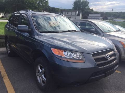 2007 Hyundai Santa Fe for sale at BURNWORTH AUTO INC in Windber PA