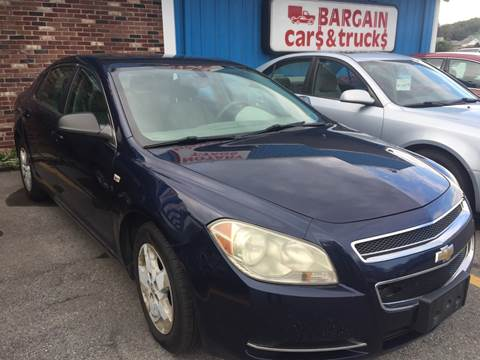 2008 Chevrolet Malibu for sale at BURNWORTH AUTO INC in Windber PA