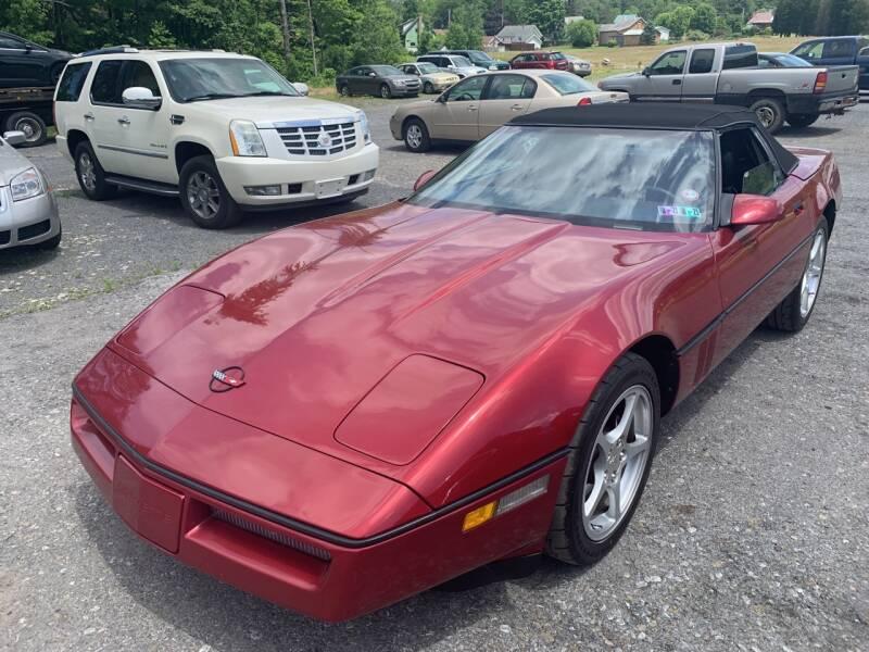 1989 Chevrolet Corvette 2dr Convertible - Windber PA