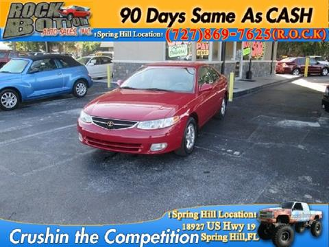 1999 Toyota Camry Solara for sale in Hudson, FL