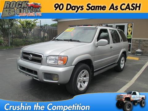 2002 Nissan Pathfinder for sale in Hudson, FL
