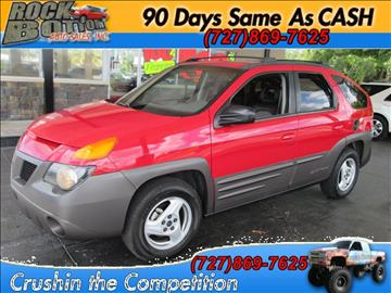 2001 Pontiac Aztek for sale in Hudson, FL