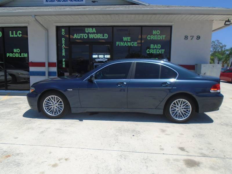 2004 BMW 7 Series 745i 4dr Sedan - Stuart FL