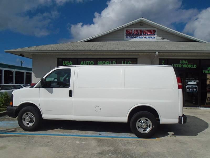 2005 Chevrolet Express Cargo 2500 3dr Van - Stuart FL